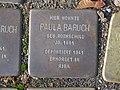 Stolperstein Paula Baruch, 1, Brunnenallee 29, Bad Wildungen, Landkreis Waldeck-Frankenberg.jpg