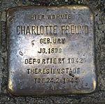 Stolperstein Radebeul Charlotte Freund.JPG