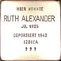 Stolperstein Ruth Alexander1.jpg