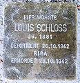 Stolperstein Sakrower Kirchweg 70a (Kladow) Louis Schloss.jpg