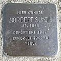 Stolperstein Windeck Dattenfeld Hauptstraße Norbert Simon.jpg