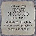 Stolperstein für Cesare Di Consiglio (Rom).jpg