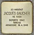 Stolperstein für Jacques Gaucher (Fontenay-sous-Bois).jpg