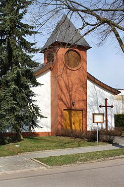 Stránecká Zhoř, small church.jpg