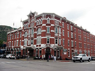 Durango, Colorado - The Strater Hotel in 2010