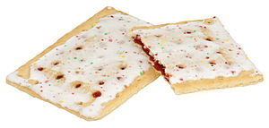 Pop-Tarts - Frosted strawberry Pop-Tarts.