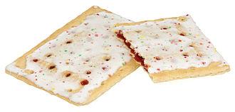 Pop-Tarts - Frosted strawberry Pop-Tarts.