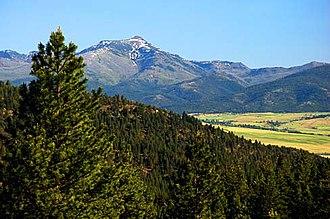 Strawberry Range - Image: Strawberry Mountains (Grant County, Oregon scenic images) (gra DA0010)