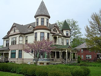 Streator, Illinois - The Silas Williams House is listed on the NRHP.