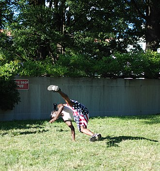 Flare (acrobatic move) - Image: Street Acrobats in DC 2013 06 07 04