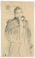 "Study for ""Young Girl in a Green Coat"" MET DT3298.jpg"