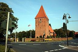 Backsteinkirche in Stuhr aus dem 13. Jahrhundert