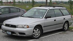 Subaru Legacy (second generation) - Image: Subaru Legacy wagon 08 28 2009