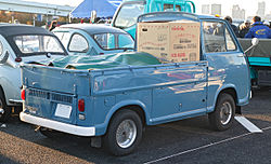 Subaru wikivisually subaru sambar the rear view of a second generation truck fandeluxe Choice Image