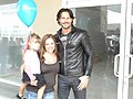 Sue, Joe Manganiello and the Girl (12062174284).jpg