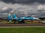 Sukhoi Su-27P Flanker, 58, Ukraine Air Force, Kleine Brogel, Belgian Air Force Days 2018 pic2.jpg