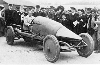 Louis Coatalen - Coatalen's streamlined Nautilus in 1910