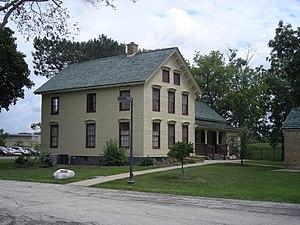 Sunderlage Farm Smokehouse. Hoffman Estates, I...