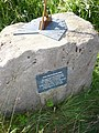 Sundial mounted on rock. - geograph.org.uk - 1421690.jpg