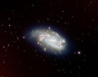 NGC 1559 - Image: Supernova 2005dh and Spiral Galaxy NGC 1559