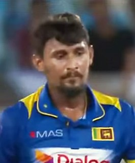 Suranga Lakmal Sri Lankan cricketer