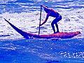 Surfing en caballito de totora en Huanchaco1.jpg