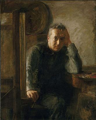 Charles Bregler - Portrait of Thomas Eakins (1920s) by Susan Macdowell Eakins, Philadelphia Museum of Art, 1939 gift of Charles Bregler