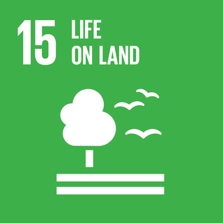 Sustainable Development Goal 15 The 15th of 17 Sustainable Development Goals to protect life on land