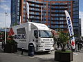 Suzuki dislay at Portsmouth Gunwharf Quays in May 2012.JPG