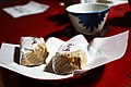 Sweets and tea at Shojoshin-in (3810904062).jpg