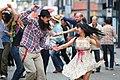 Swing Dancing on Granville Street (7627390630).jpg