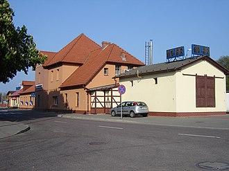 Świnoujście railway station - Świnoujście railway station