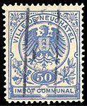 Switzerland Neuchâtel city 1891 revenue 1 50c - 1.jpg
