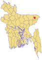 Sylhet Upazila Map.png