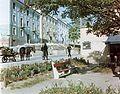 Szent István út, a Fekete gyémánt utca felől a Jókai utca felé nézve. Fortepan 21538.jpg