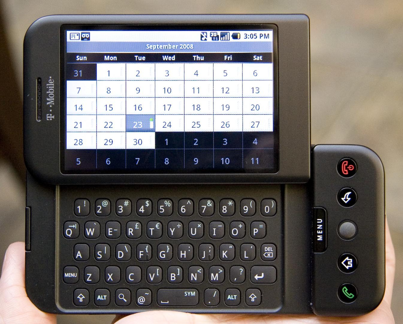HTC Dream - The complete information and online sale with