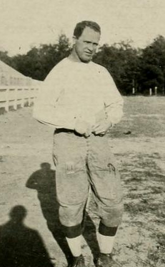 Thomas J. Campbell (American football) - Campbell pictured in Yackety yak 1917, UNC yearbook