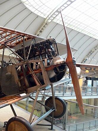 Austro-Daimler 6 - Image: TMW Aviatik D 1 1