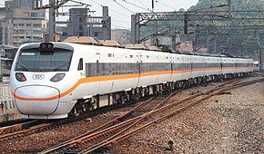 台鐵TEMU1000型電聯車在汐止車站