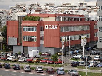 Media of Serbia - Old B92 headquarters in Novi Beograd
