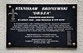 Tablica Stanisław Broniewski ul. Grażyny 22.JPG