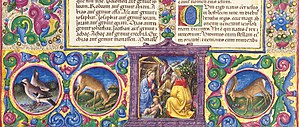 Taddeo Crivelli - Detail from the Borso Bible