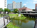 Tainan Municipal Cultural Center West Pond 20130810.JPG