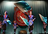 台北戯棚の京劇