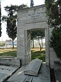 Tomb of Talaat Pasha in the cemetery of Monument of Liberty, Istanbul