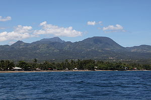 Mount Talinis - Mount Talinis seen from the Tañon Strait.