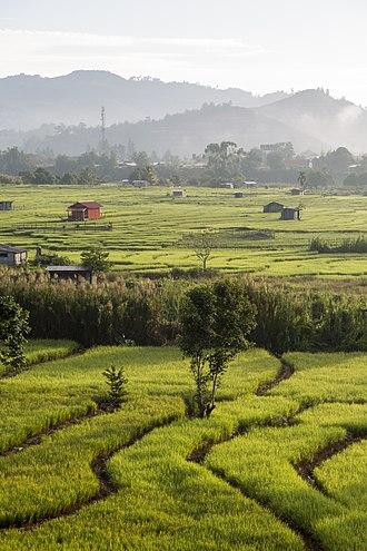 Tambunan District - Image: Tambunan Sabah Battlefield Battle of Tambunan 04