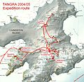 Tangra-2004-05-Survey-Route.jpg