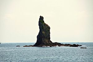 Sea of Japan - Tategami rock