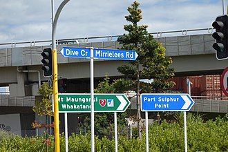 Bradshaw Dive - Dive Crescent in Tauranga is named after the former Mayor of Tauranga